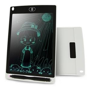 CHUYI Portable 8.5 inch LCD Writing Tablet Drawing Graffiti Electronic Handwriting Pad Message Graphics Board Draft Paper with Writing Pen, CE / FCC / RoHS Certificated(White)