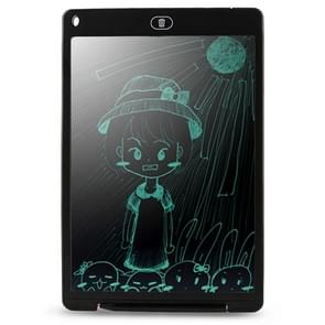 CHUYI Portable 12 inch LCD Writing Tablet Drawing Graffiti Electronic Handwriting Pad Message Graphics Board Draft Paper with Writing Pen, CE / FCC / RoHS Certificated(Black)