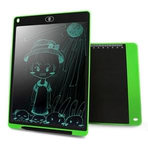 CHUYI Portable 12 inch LCD Writing Tablet Drawing Graffiti Electronic Handwriting Pad Message Graphics Board Draft Paper with Writing Pen, CE / FCC / RoHS Certificated(Green)