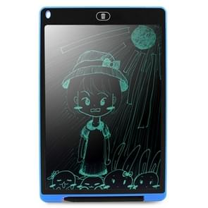 CHUYI Portable 12 inch LCD Writing Tablet Drawing Graffiti Electronic Handwriting Pad Message Graphics Board Draft Paper with Writing Pen, CE / FCC / RoHS Certificated(Blue)
