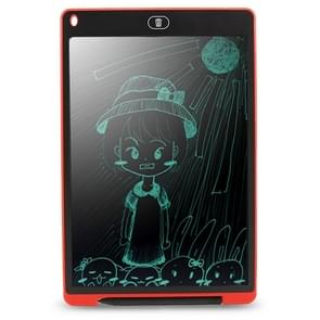 CHUYI Portable 12 inch LCD Writing Tablet Drawing Graffiti Electronic Handwriting Pad Message Graphics Board Draft Paper with Writing Pen, CE / FCC / RoHS Certificated(Red)