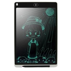 CHUYI Portable 12 inch LCD Writing Tablet Drawing Graffiti Electronic Handwriting Pad Message Graphics Board Draft Paper with Writing Pen, CE / FCC / RoHS Certificated(White)