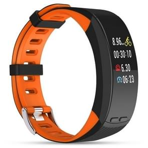 P5 0.96 inch OLED Touch Screen Display Bluetooth GPS Outdoor Sports Professional Smart Bracelet, IP56 Waterproof, Support Pedometer / Real-time Heart Rate Monitor / Barometer / Thermometer / Sleep Monitor /  GPS Movement Track / Call Reminder, Compatible