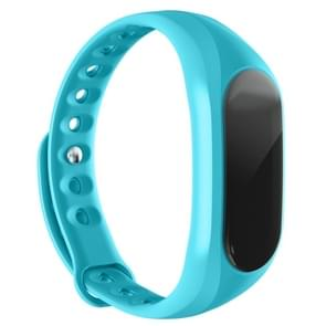 CUBOT V1  Touch Screen Bluetooth Life Waterproof Smart Wristband for iOS / Android Smart Phone,  Anti-lost / Message Push / Pedometer / Sleep Monitor(Blue)