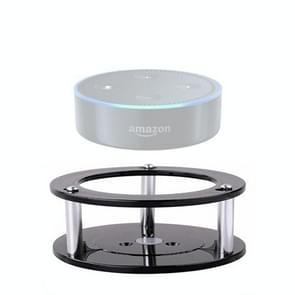2 in 1 Wall Mount Stand Holder for Amazon Echo Dot (2nd. Generation)(Black)