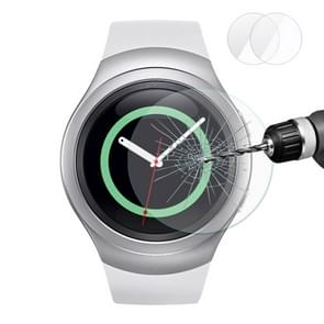 2 PCS ENKAY Hat-Prince for Samsung Gear S2 Smart Watch 0.2mm 9H Surface Hardness 2.15D Explosion-proof Tempered Glass Screen Film