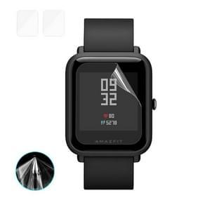 2 PCS ENKAY Hat-Prince for Xiaomi Huami AMAZFIT Smart Watch TPU Screen Protector