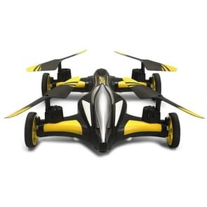 JJR/C H23 Flying & Car Headless Mode 2.4GHz 6 Axis Drone RC Quadcopter with Remote Control(Yellow)