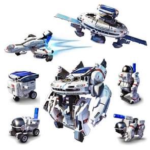 7 in 1 DIY Solar Space Fleet Robot Kits