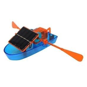 Children Toy DIY Solar Powered Boat