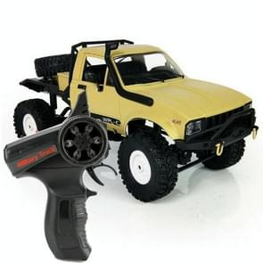 WPL C-14 1:16 Mini 2.4G 4WD RC Crawler Off Road Car with Light (Yellow)