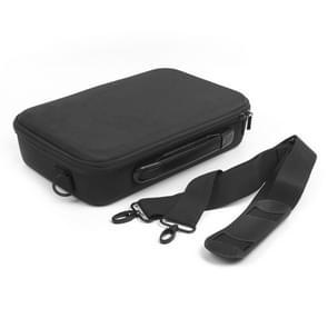 Portable Single Shoulder Waterproof Travel Carrying Storage Case Box for DJI TELLO Drone / GameSir T1d(Black)