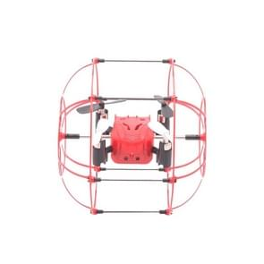 M66 4-Channel 3D Flip 2.4GHz FPV Radio Control Quadcopter with 6-axis Gyro & LED Light & Remote Controller(Red)