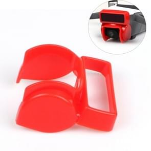 Gimbal Shade Camera Lens Hood Anti Flare Gimbal Protective Cover for DJI Spark(Red)
