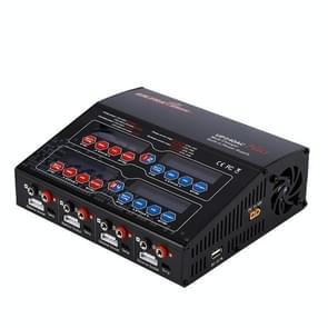 UP240AC Plus (240W / 4 x 60W / 2 x 120W) 4 Port Multi Balance Lader met Power Supply(zwart)