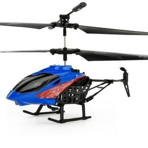 JUNXING JX-807 2CH Infrared  Mini RC Helicopter, Size: 19cm x 10cm x 4cm (Blue)