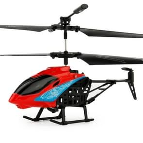 JUNXING JX-807 2CH Infrared  Mini RC Helicopter, Size: 19cm x 10cm x 4cm (Red)