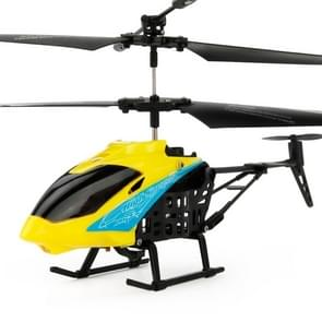 JUNXING JX-807 2CH Infrared  Mini RC Helicopter, Size: 19cm x 10cm x 4cm (Yellow)