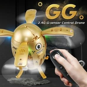 JJR/C H65 GG Flying Egg 2.4GHz RC Drone Helicopter with Remote Controller & LED Light, Altitude Hold Mode, Gravity Sensor(Gold)
