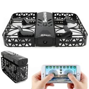 JX815-8 Folding 360 Degree Flip 4-Channel 2.4GHz WiFi Real-time FPV Radio Control Quadcopter with 0.3MP Camera & 6-axis Gyro(Black)