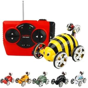 Mini Insect Car Flip Stunt Vehicle Overturn Funny Remote Control Car, Random Color Delivery