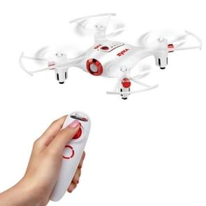 SYMA X20-S 4-Channel 3D Flip 2.4GHz FPV Mini Pocket Radio Control Quadcopter with LED Light & Remote Controller(White)