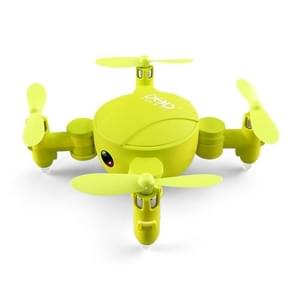DHD D4 Pocket Folding WiFi 4CH 6-Axis Gyro 2.4GHz RC Mini Quadcopter with Camera, Altitude Hold, Real-time FPV, 3D Flips & Rolls, One Key Return (Green)