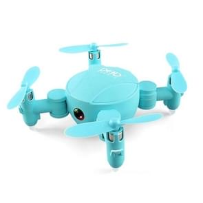DHD D4 Pocket Folding WiFi 4CH 6-Axis Gyro 2.4GHz RC Mini Quadcopter with Camera, Altitude Hold, Real-time FPV, 3D Flips & Rolls, One Key Return (Blue)
