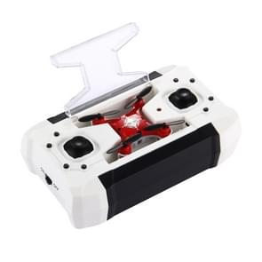 QS998 4-Channel 3D Flip 2.4GHz FPV Mini Pocket Radio Control Quadcopter with 6-axis Gyro & LED Light & Remote Controller(Red)