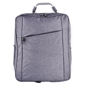 10653 Dual Shoulder Carry No Foam Backpack Bag for DJI Phantom 4 Quadcopter(Grey)