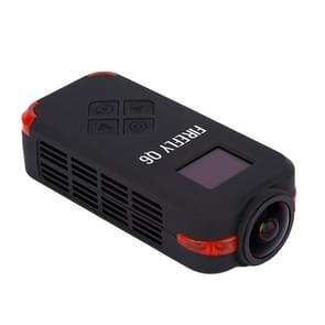Hawkeye Firefly Q6 4K 120 Degree Angle 12M Pixel HD Action / FPV Camera(Black)