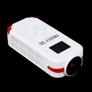 Hawkeye Firefly Q6 4K 120 Degree Angle 12M Pixel HD Action / FPV Camera(White)