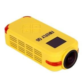 Hawkeye Firefly Q6 4K 120 Degree Angle 12M Pixel HD Action / FPV Camera(Yellow)