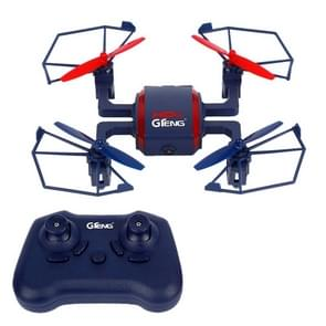 GTeng T901C 4CH 2.4GHz Aerial Drone Quadcopter with 2MP Camera & LED Lights(Blue)