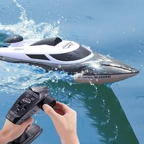 HongXunJie HJ806 2.4Ghz Water Cooling High Speed Racing Boats with Remote Controller, Auto Flip Function, 200m Control Distance (Black)