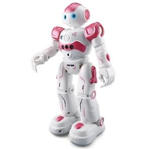 JJR/C R2 CADY WINI RC Robot Gesture Sensor Dancing Intelligent Program Toy Gift for Children Kids Entertainment(Pink)