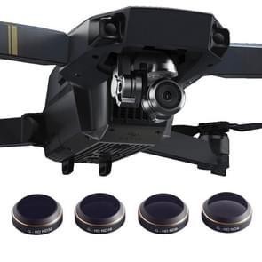 PGYTECH 4 in 1 HD Drone Camera G-HD-ND32/16/8/4 Lens Filter Set voor DJI Mavic Pro