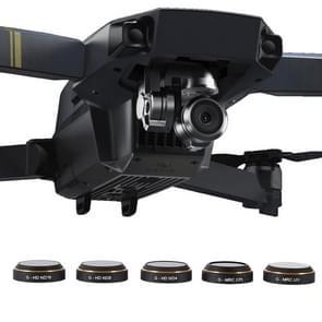 PGYTECH 5 in 1 HD Drone Camera G-HD-ND16/8/4 & G-MRC-CPL & G-MRC-UV Lens Filter Set voor DJI Mavic Pro