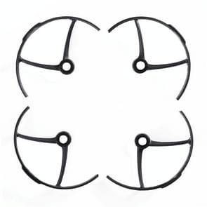 4 PCS Anti-collision Propeller Protective Cover Protector for 8520 Mini Racing Drone (Black)