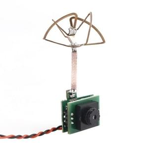 Mini 5.8G 25mW 48ch Video Transmitter with 600TVL Camera and Antenna