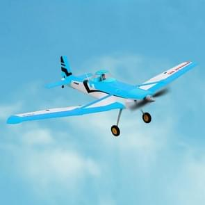 Dynam DY8967BNP Cessna 188 Crop Duster 1500mm Wingspan RC Trainer Plane Model Airplane, Include 2.4GHz Receiver met 6-Axis Gyro, BNP versie (blauw)