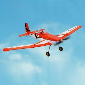 Dynam DY8967PNP Cessna 188 Crop Duster 1500mm Wingspan RC Trainer Plane Model Airplane,  PNP versie (Oranje)