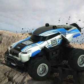8024 1:58 4CH Mini RC Off-road Car with Remote Control (Black+Blue)