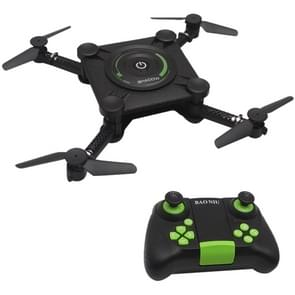 HC651W Foldable 2.4GHz 4CH RC Drone Quadcopter with 0.3MP WiFi Camera & Remote Control, Headless Mode, Hovering Mode(Black)