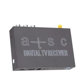 Car ATSC MPEG-4 HD H.264 Digital TV Receiver Box with Remote Control, Suitable for North America