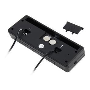 Digital Car Thermometer Voltage Meter Luminous Clock Tester Detector Multi-function Car Digital Clock with Thermometer and Automotive Voltmeter