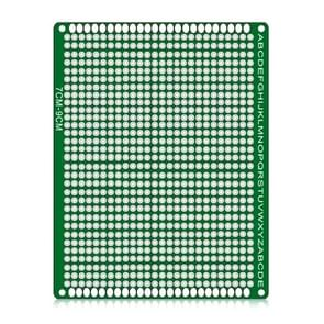 2 PCS LandaTianrui LDTR - WG032 / D3 Double-sided Glass Fibre Breadboard PCB Prototype Board, Size: 7 x 9cm