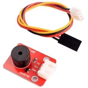 Passive Buzzer Sound Sensor Module with 3 Pin Dupont Line for Computers / Printer / Photocopier / Alarm / Electronic Toy / Automotive