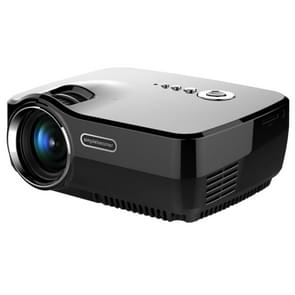 Vivibright GP70 1200LM 800*480 Home Theater Projector with Remote Control, 4.0 inch Single LCD Panel Display(Black)