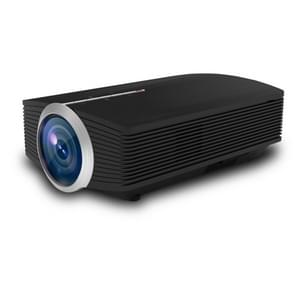 YG500 1200 LUX 800*480 LED Projector HD Home Theater, Support HDMI & VGA & AV & TF & USB